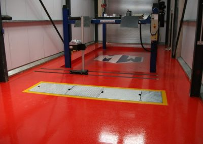 epoxy garage flooring
