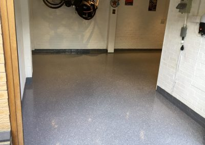 epoxy resin garage flooring