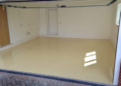 epoxy resin garage flooring